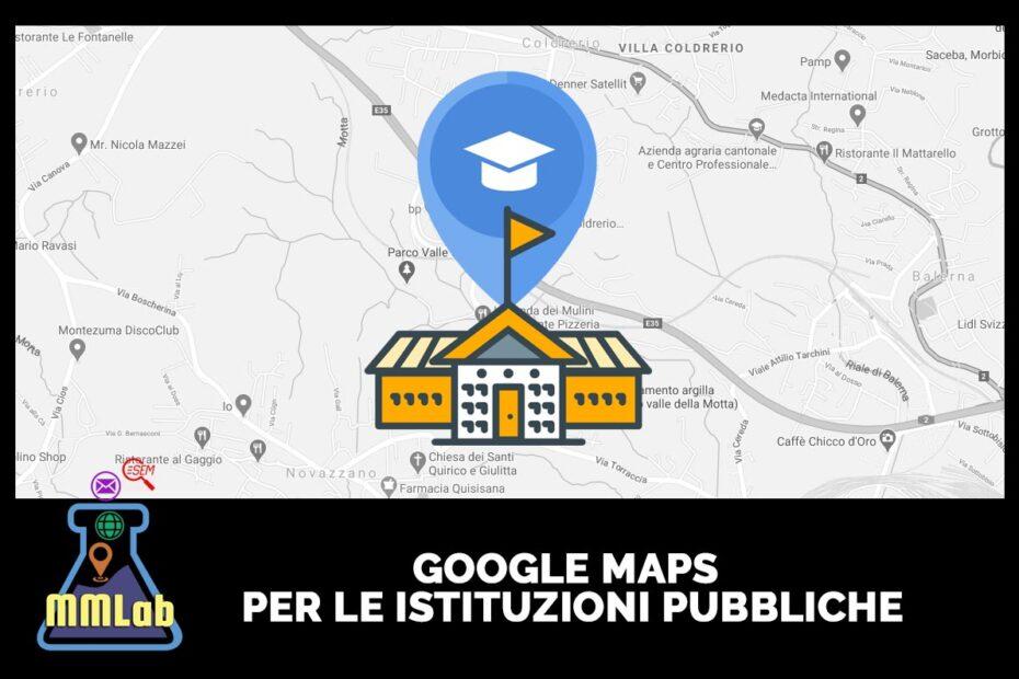Reputazione online - Google maps per le istituzioni pubbliche