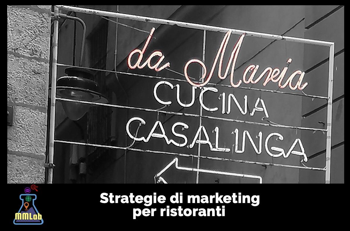 Strategie di marketing per ristoranti